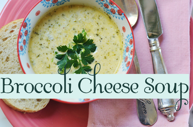 life{in}grace's Broccoli Cheese Soup // Six Family-Tested Soups You Need to Make {and the Best Bread Ever} from ordinaryawesome.com