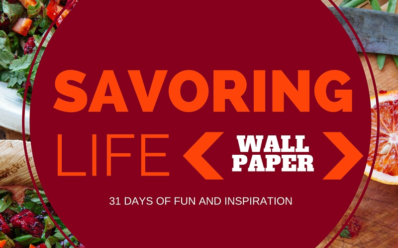 {Wall Paper} FREE Lindsay Letters Printable :: Savoring Life Day 15