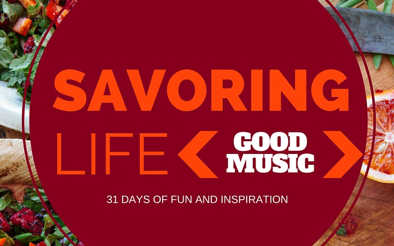 {Good Music} Sovereign Over Us :: Savoring Life Day 19