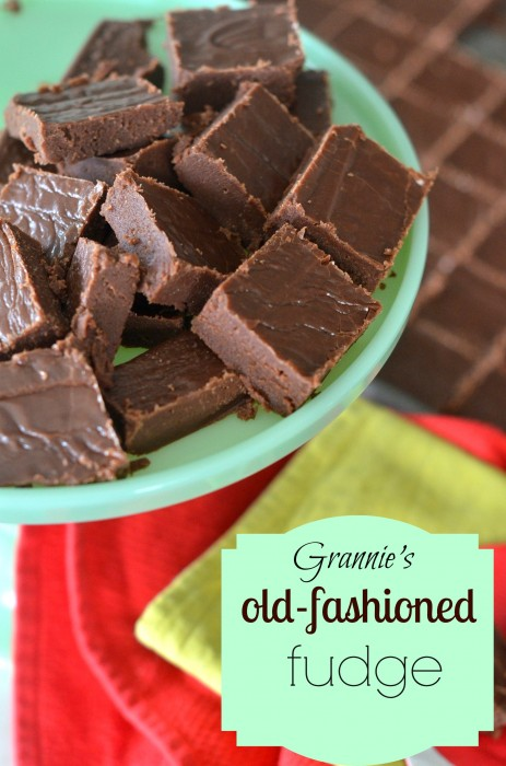 {Good Food} Edie's Old-Fashioned Homemade Fudge - Day 15 - Savoring Life - God's Word! - 31 Days of Fun and Inspiration - ordinaryawesome.com