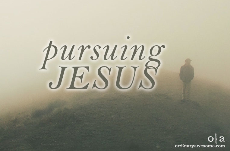 Pursuing Jesus {An Invitation}
