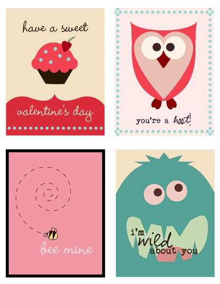 Cute Valentines from Pumpkins & Posies - Valentines roundup on ordinaryawesome.com