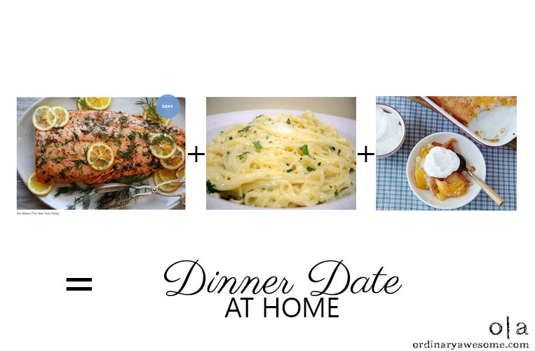 Easy Peasy At-Home Dinner Date